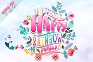happy-rainbow-family-font