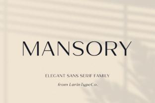 mansory-font