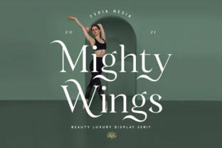 mighty-wings-font