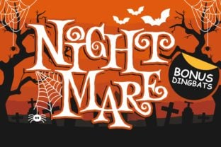 night-mare-font