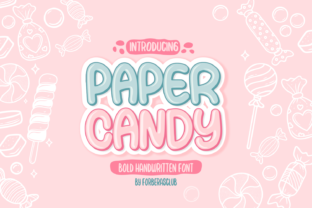 paper-candy-font