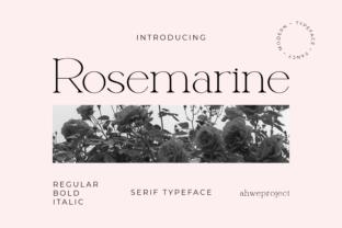 rosemarine-font