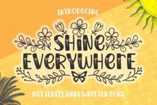 shine-everywhere-font