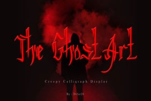 the-ghost-art-font