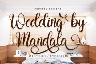 wedding-by-mandala-font