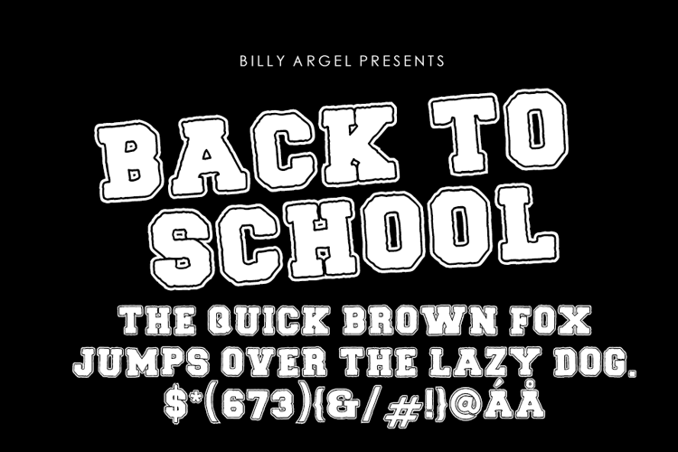 back-to-school-font