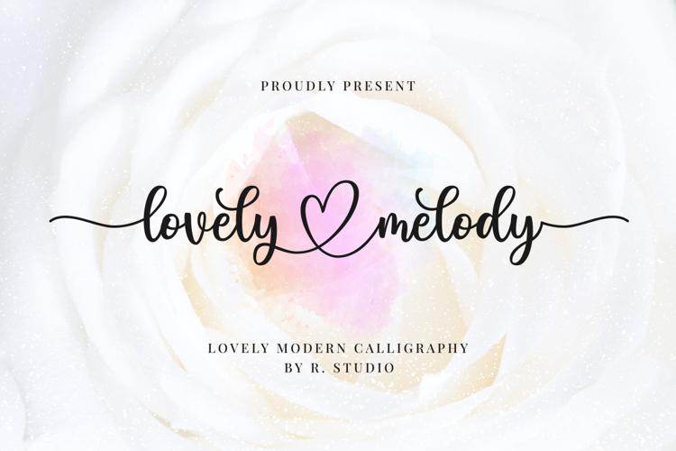 lovely-melody-font