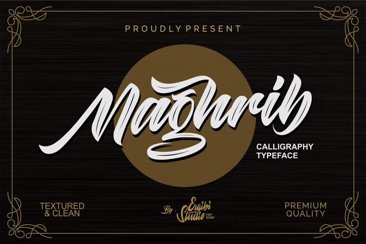 maghrib-font