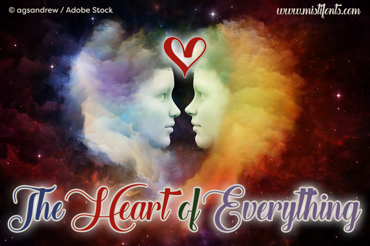 the-heart-of-everything-font