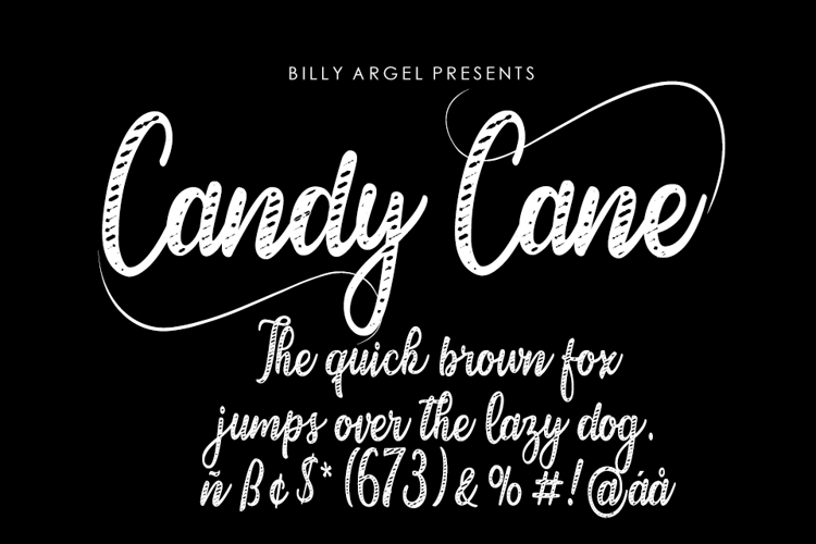 candy-cane-font