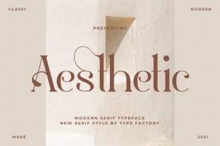 aesthetic-font