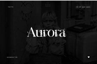aurora-font