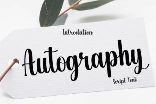autography-font