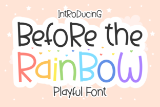 before-the-rainbow-font