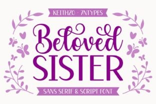 beloved-sister-duo-font