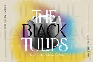 black-tulip-font