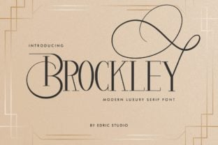 brockley-font