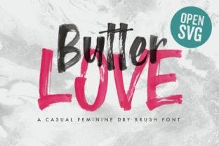 butter-love-font