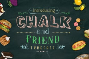 chalk-and-friend-font