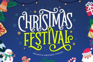 christmas-festival-font
