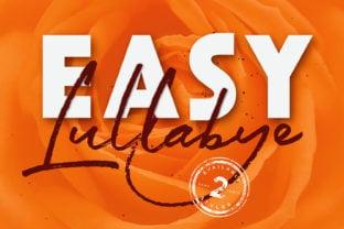easy-lullabye-font