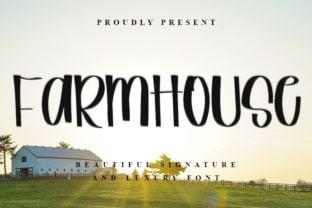 farmhouse-font