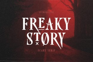 freaky-story-font