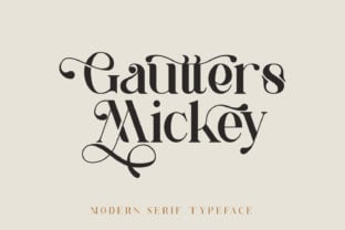 gautters-mickey-font