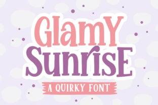 glamy-sunrise-font