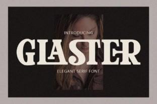 glaster-font