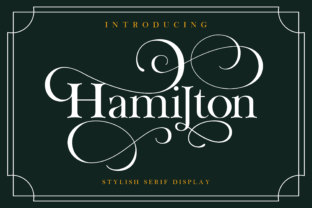 hamilton-font