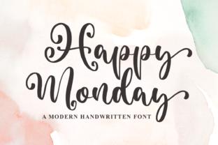 happy-monday-font