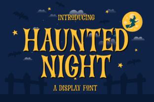 haunted-night-font