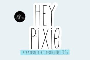 hey-pixie-font