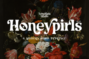honeypirls-font