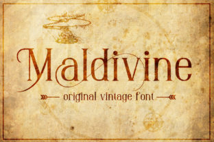 maldivine-font