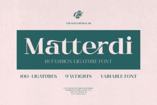 matterdi-font
