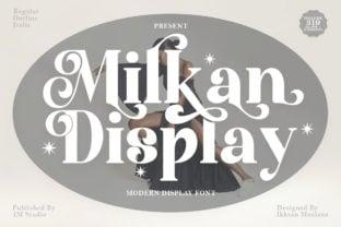 milkan-display-font