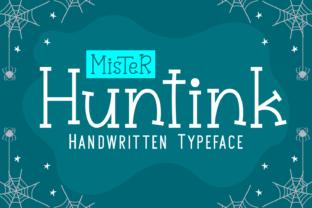 mister-huntink-font