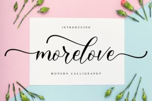 morelove-font