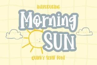 morning-sun-font