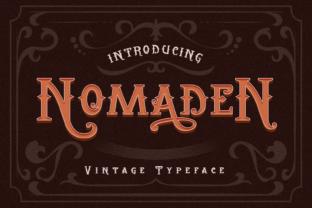 nomaden-font