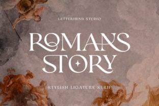romans-story-font