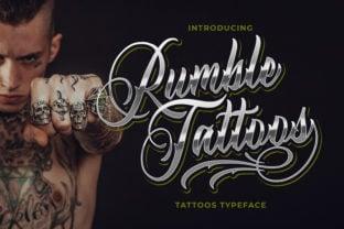 rumble-tattoos-font