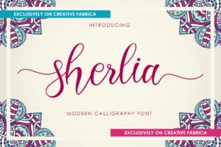 sherlia-script-font