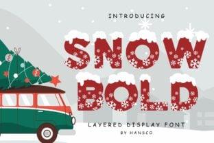 snow-bold-font