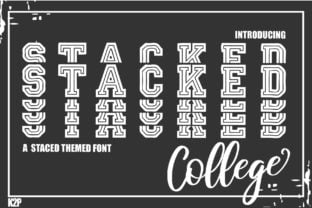 stacked-college-font