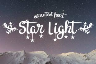 star-light-font