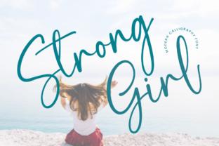 strong-girl-font