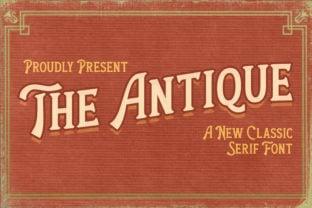 the-antique-font